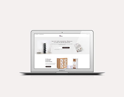Mobili Rebecca - Landing page