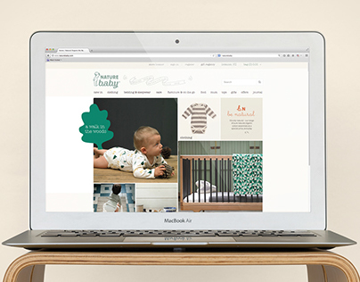 Nature Baby e-Commerce Website