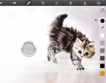 Cat - Digital Art