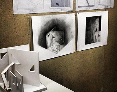 Orthographic Drawing & Interior Studio I