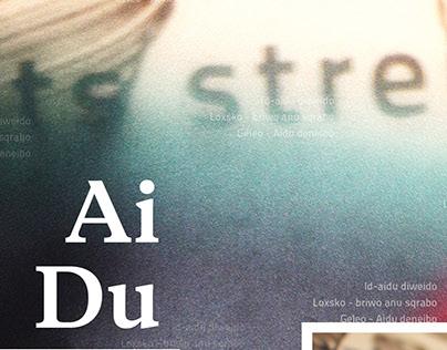 Ai Du_Musical Poster