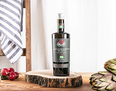 Product photography for Olio Calvi new organic line