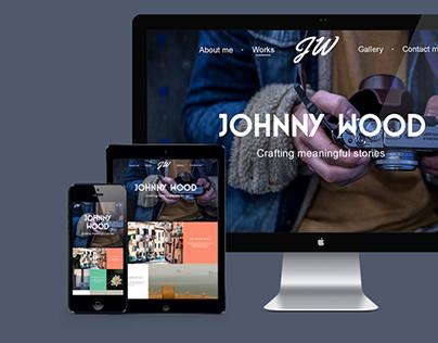 Johnny Wood-Responsive portfolio template
