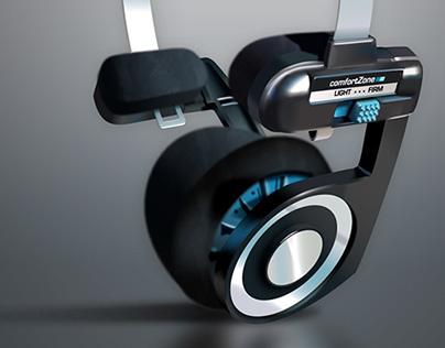 Vector Headphone Illustration