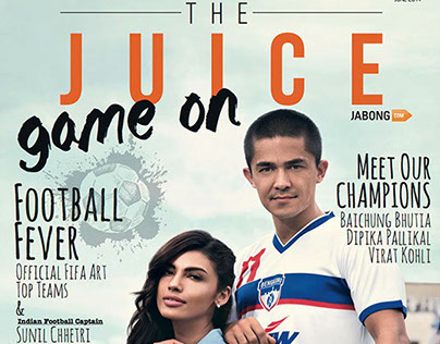 """""""Game On!"""" for The Juice Magazine,June 2014"""