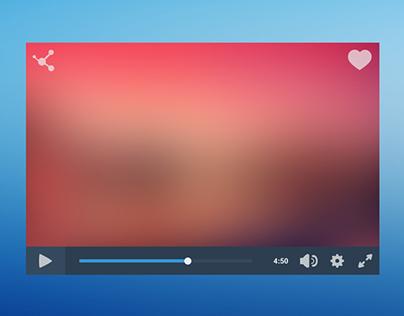 Flat Video Player