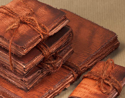 Medieval Parchment Style Handmade Journals