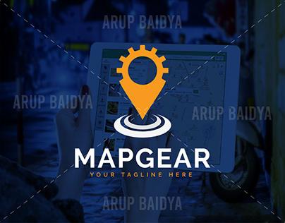 MAPGEAR Minimalist LOGO DESIGN