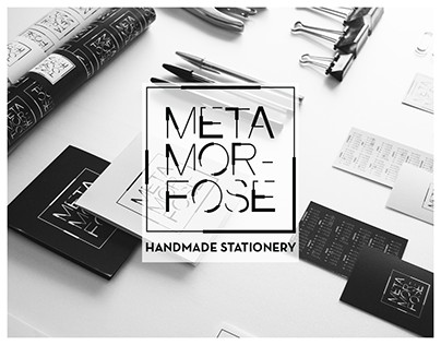 Metamorfose Handmade Stationery • BrandBook