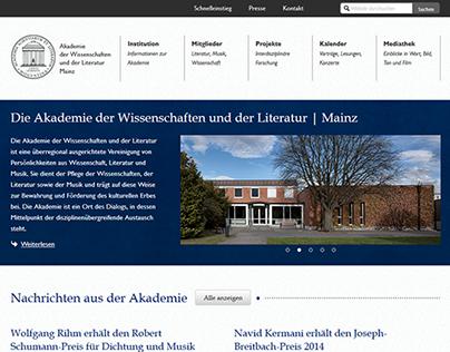 Akademie der Wissenschaften und der Literatur | Mainz