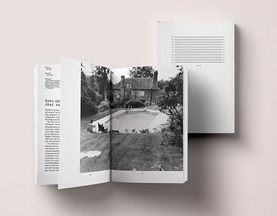 Akte 27 // Editorial Design