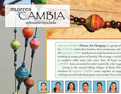 Mujeres: Cambia Printed Materials