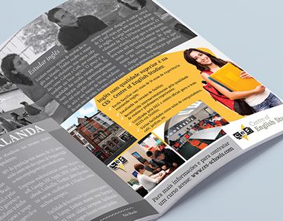 Advertising - Centre of English Studies CES - Dublin