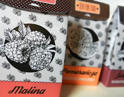 Packaging Design - Fruit Tea