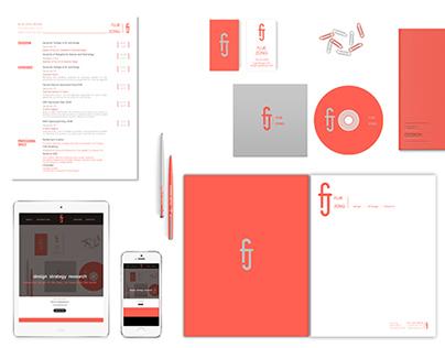 Visual Branding for FujieDesign.com