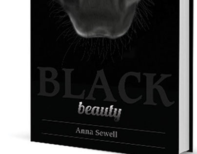 Black Beauty Book Cover Illustration and Design
