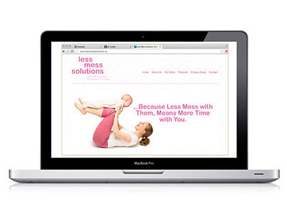 Less Mess Solutions Website