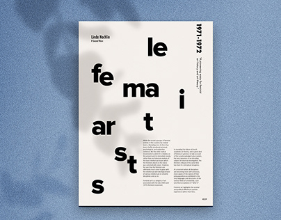 Typography/Layout Design-A5 Content Page