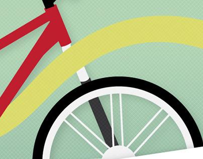Radford City Bike Paths Map