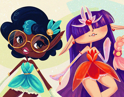 Sailor Moon redesign | sailor moon characters as pixies