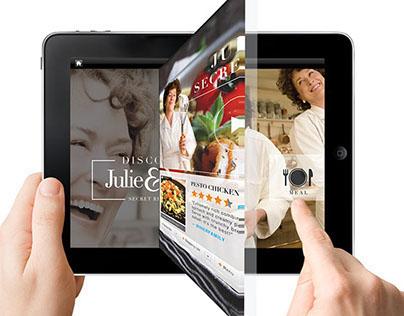 Web Concept / Julie & Julia