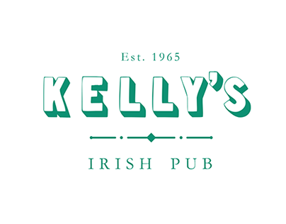 Kelly's Irish Pub Branding