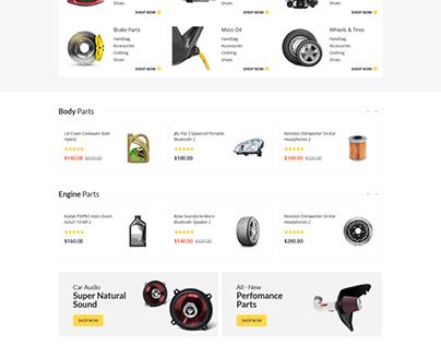 Autima - Car Accessories Shop HTML Template