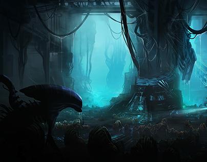 Alien Egg Cave