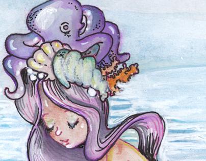Mermaid Sketchbook
