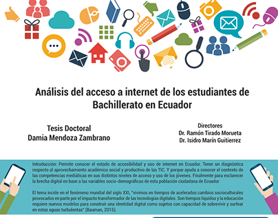 Doctoral Thesis Cover and Poster - Damia Mendoza
