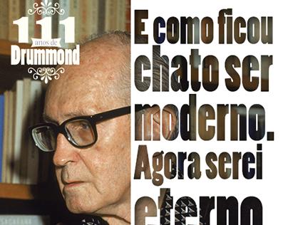 111 anos de Drummond