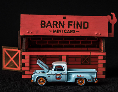 Barnfind Minicars - Brand Design & Packaging