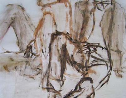 Rysunek: Akt 2005 - 2009 / Drawing: Act 2005 - 2009