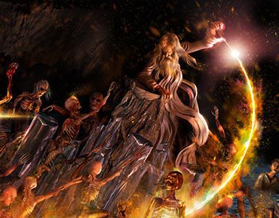 Dumbledore and the Inferi