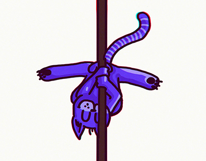 POLE DANCE CAT