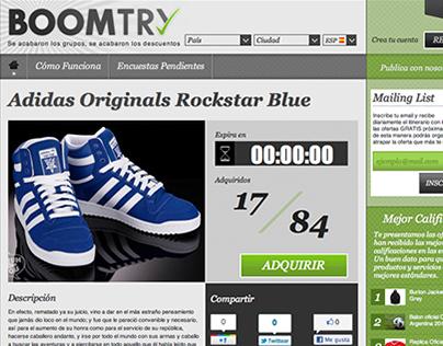 BoomTry Website