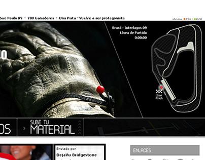 Bridgestone Campaign Website