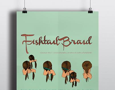 Fishtail Braid Infographic