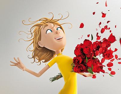 City Garden Flowers Shop / Blow Her Away