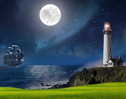 Lighthouse Sea Dream