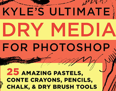 Kyle's Dry Media Brushes for Photoshop