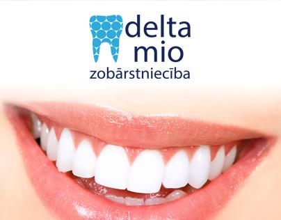 """Delta Mio"" corporate identity by Martins Markans"