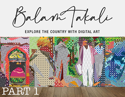 Balam Takali is a new concept in Digital Art