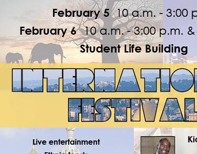 International Festival flyer 2014