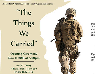 """""""The Things We Carried"""" Promo"""