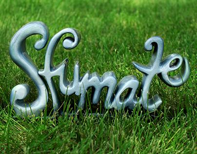 Custom Typeface Project - Sfumato