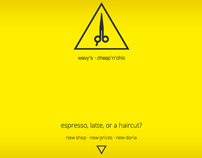 Wavys Hair Studio - Teaser One-Page Coming Soon Website