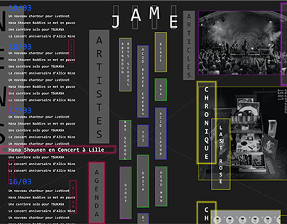 [Website] JaME 2.0