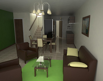 House model and render