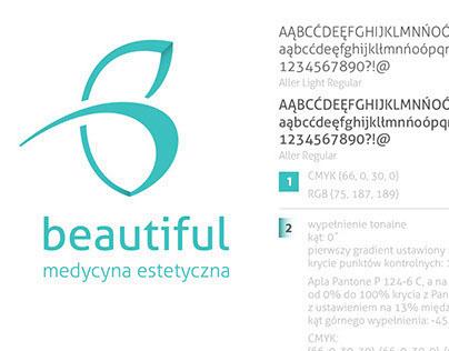 B-Beautiful Logo and micro ID